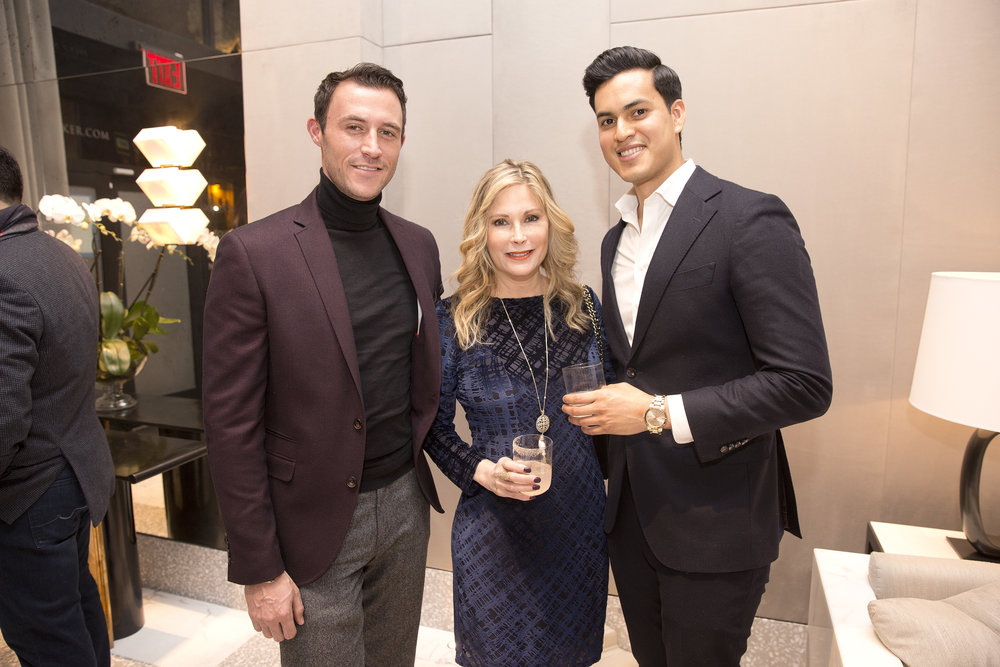 Million Dollar Listing's Fredrik Eklund and AD100's Ryan Korban Celebrate The Launch of Sales at 40 Bleecker
