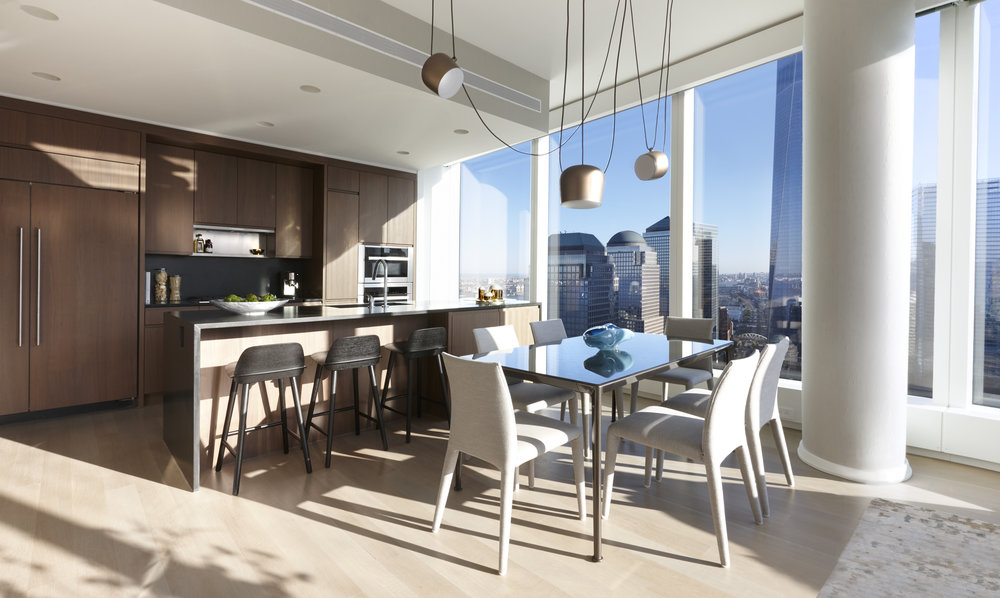 Check Out The Newly Revealed Juliet Gold-Designed Model Unit at Helmut Jahn's 50 West Street