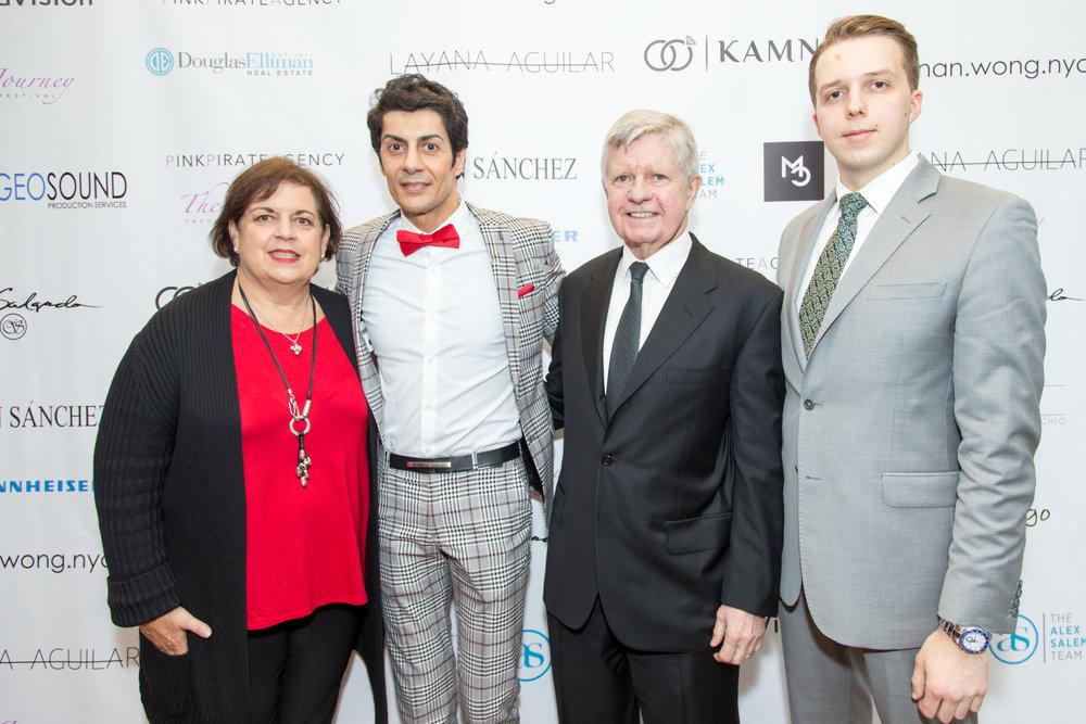Joan DeRoche, Alex Salem, Kenneth McCarren, Mateusz Kimszai