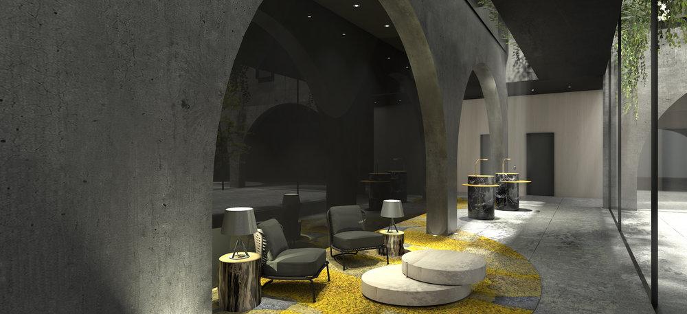 ODA New York Has Revealed New Renderings of Brutalist Crown Heights Hotel