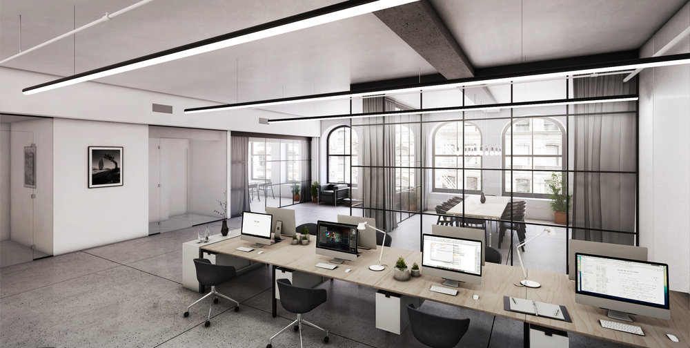 The Cast-Iron 165 Mercer Street Reveals Flank-Designed Office Space Conversion in SoHo