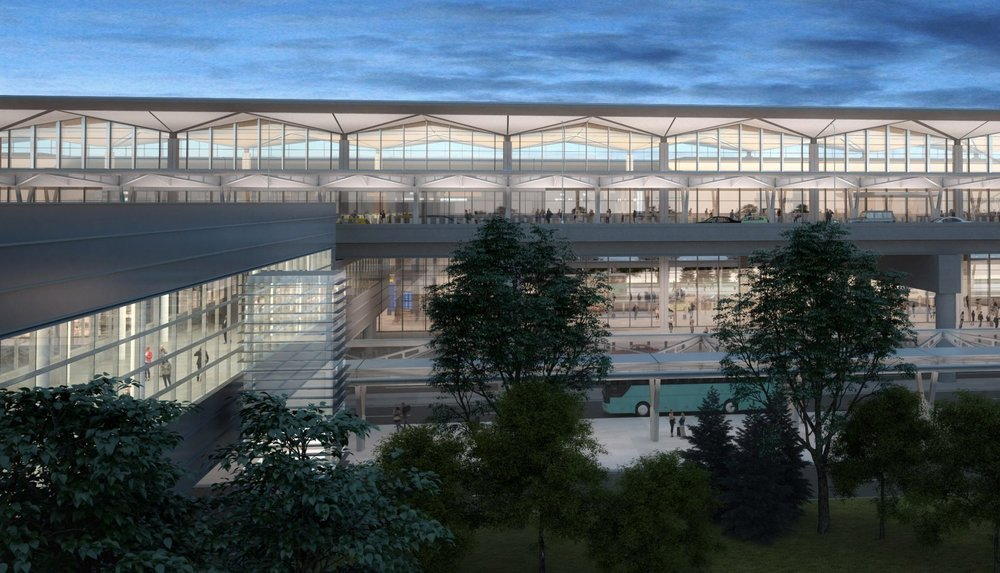 Newark Liberty International Airport Announces Grimshaw Architects-Designed Terminal One