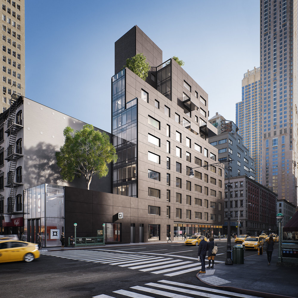 The Post-Office Architects-Designed 30 Warren Approaches Completion & Releases New Listings