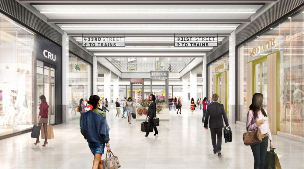 Check Out The Conversion of Midtown's James A. Farley Post Office Into Penn-Farley's Moynihan Train Hall