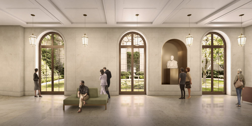 Check Out The Newley Released Renderings of Frick Collection's Selldorf Architects-designed Expansion