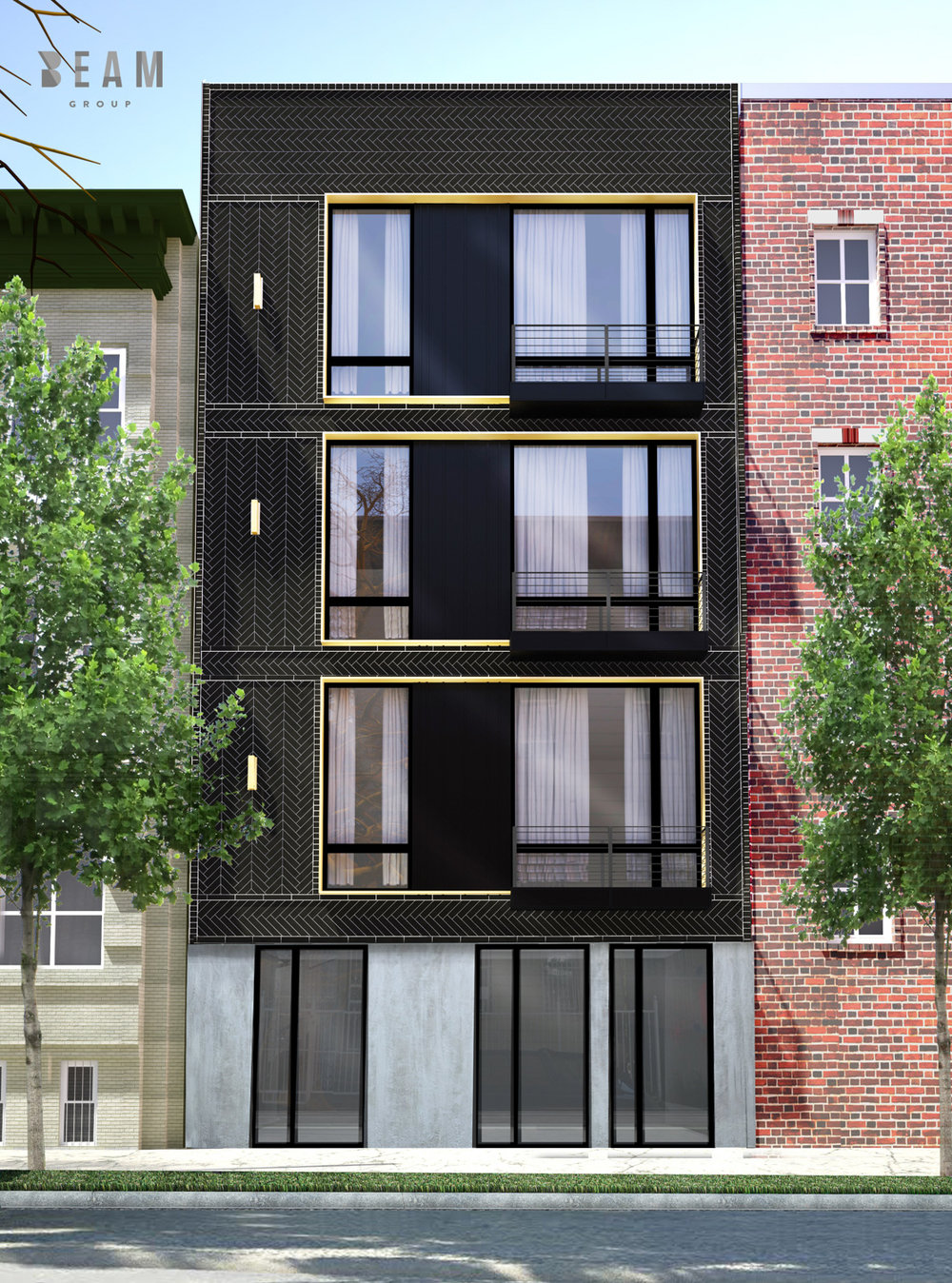 New Renderings Revealed of The BEAM Group-Designed 61 Bushwick Street in Brooklyn