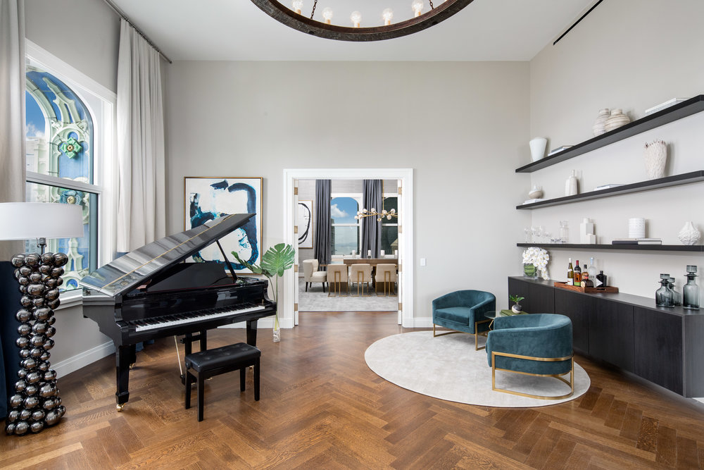 Woolworth Building Reveals Cheryl Eisen-Designed Residence Asking $21.325 Million