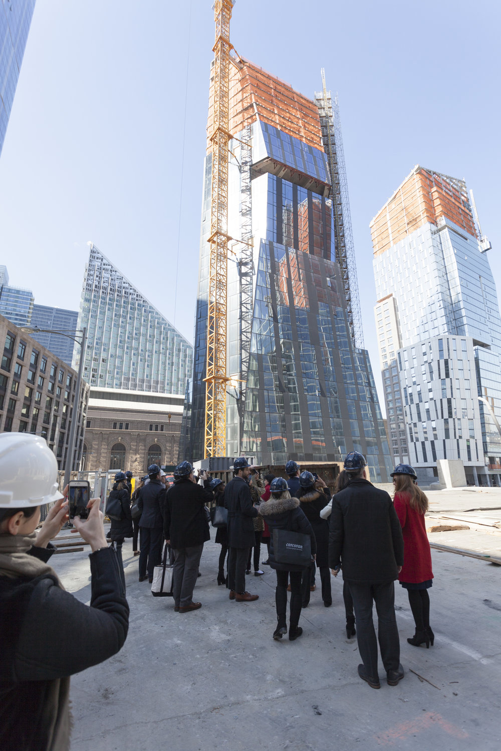 Inside The Rafael Viñoly Lead Private Hardhat Tour of Three Waterline Square