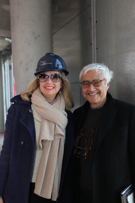 Sabrina Seidner and Rafael Viñoly
