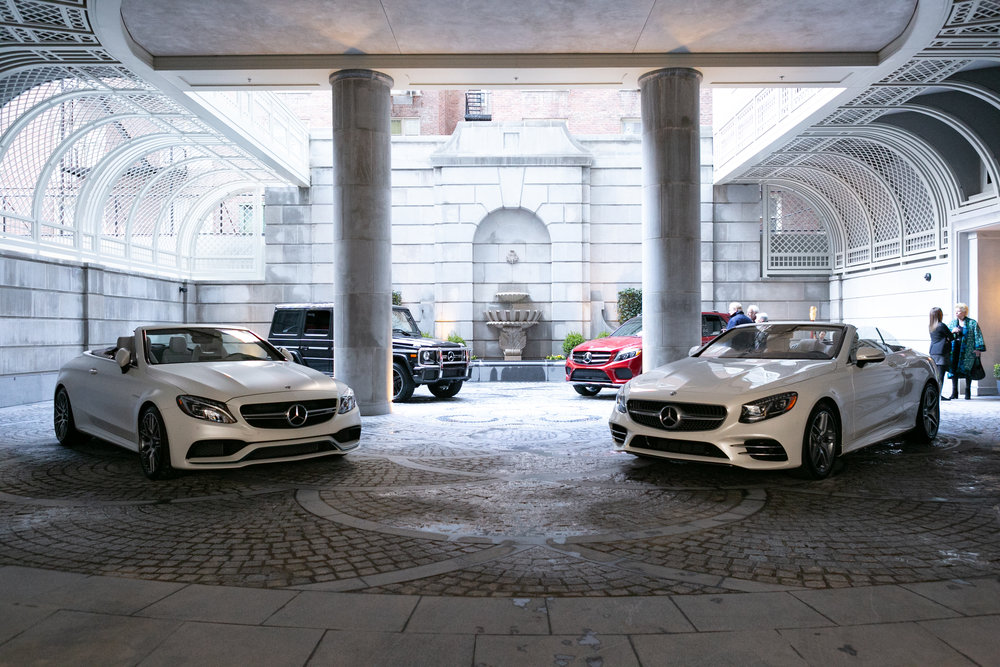 Robert A.M. Stern's 20 East End Avenue Unveils Private Motor Court with Mercedes-Benz