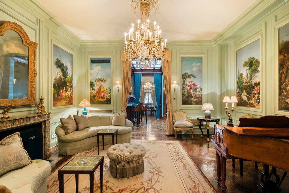 "Tour The Extravagant UES Townhouse Dubbed ""Versailles in Manhattan"" Asking $23.9 Million"