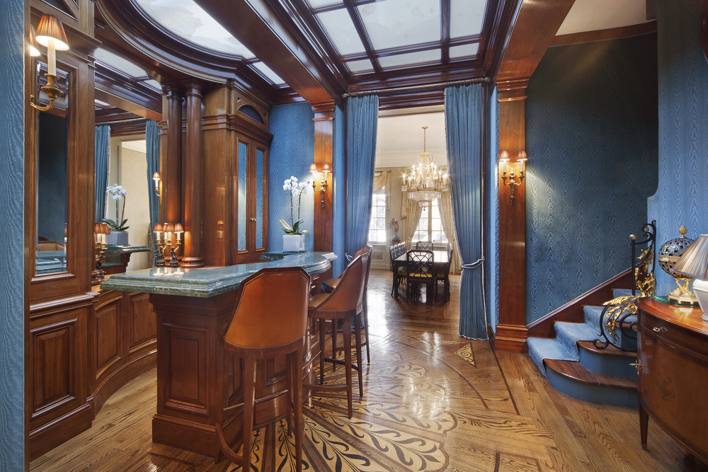 """163 East 64th St Tour The Extravagant UES Townhouse Dubbed """"Versailles in Manhattan"""" Hits The Market"""