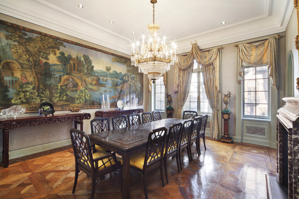 "Tour The Extravagant UES Townhouse Dubbed ""Versailles in Manhattan"" Hits The Market"