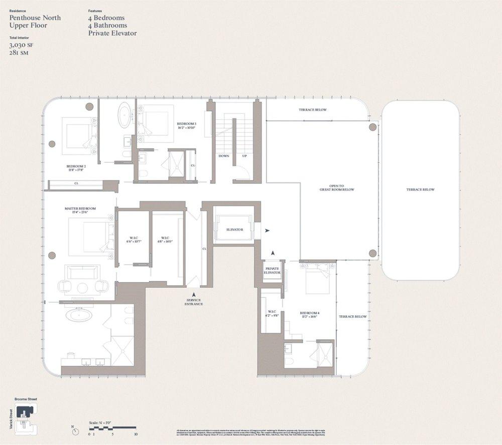 The Renzo Piano Building Workshop-Designed 565 Broome Soho Reveals $40.5 Million Penthouse