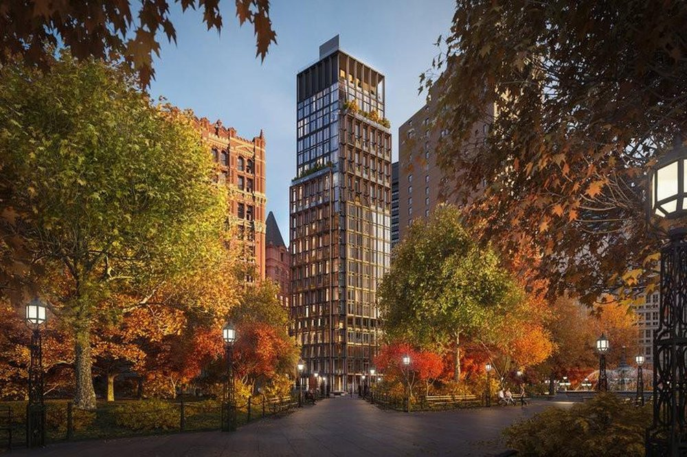Check Out These New Renderings of FIDI's One Beekman, Richard Roger's First Residential Building In The U.S.