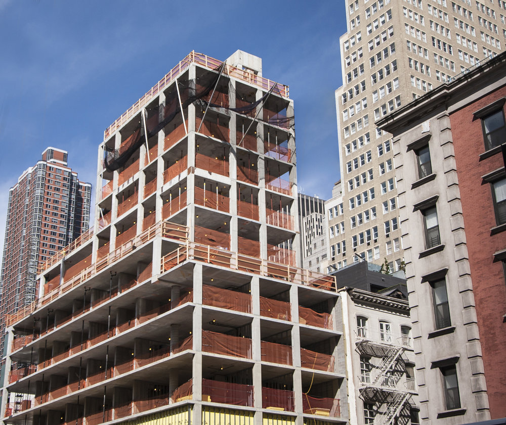 The Avant-Garde Post-Office Architectes-Designed 30 Warren Tops Out Tribeca