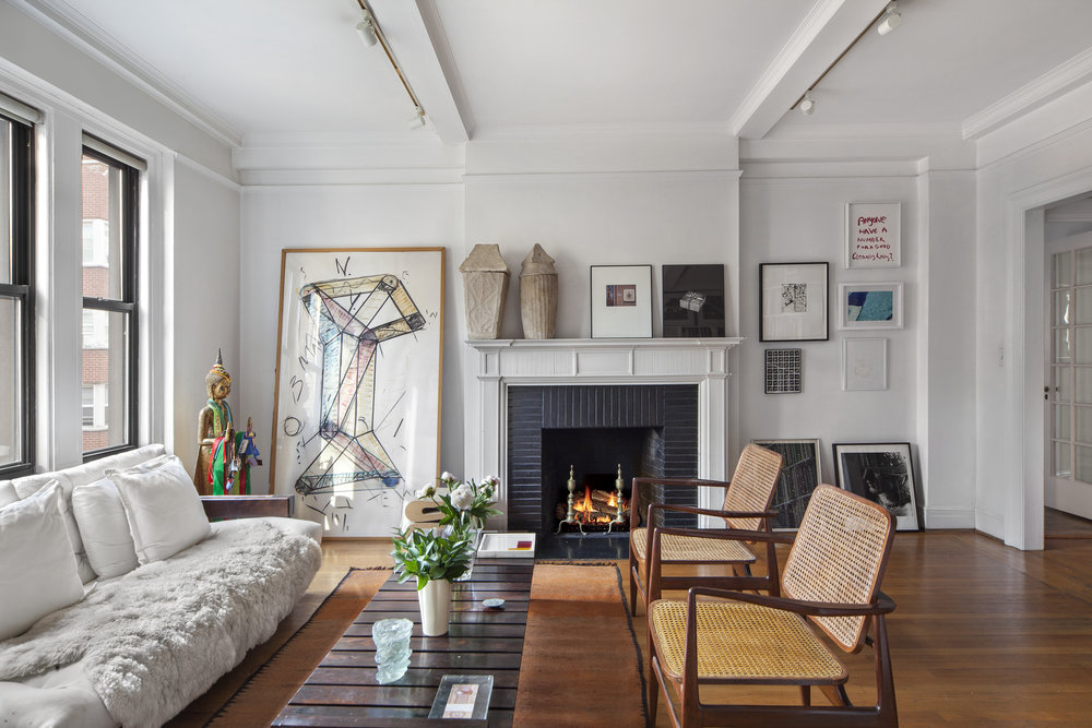 Check Out This Uptown Pre-War Co-Op With A Downtown Modern Artist Vibe Asking $2.895 Million