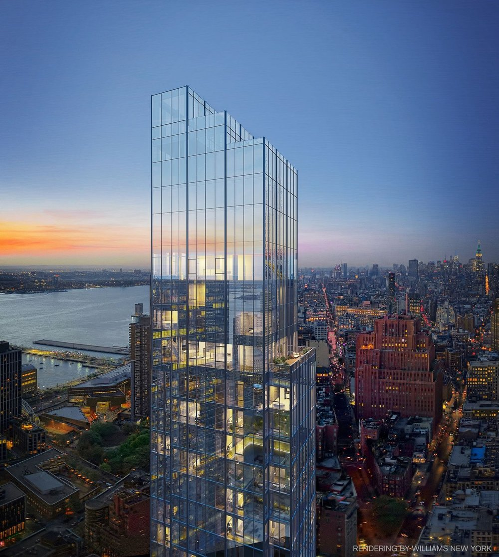 Sharif El-Gamal's Soho Properties' 45 Park Place Begins Vertical Rise in FiDi