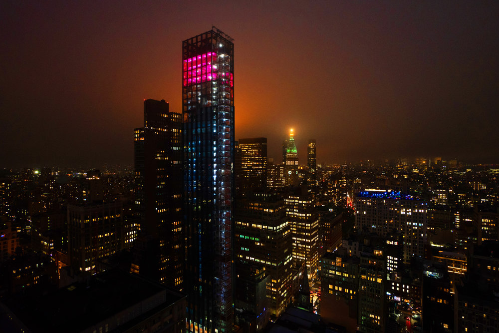 Aurora, A Site-Specific Art Installation By Joel Fitzpatrick, Debuts Atop Visionary Architect Rafael Viñoly's 277 Fifth Avenue