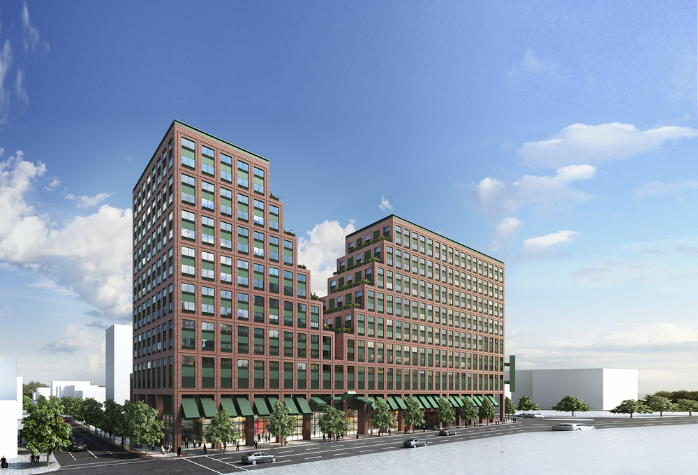 KRE Group Launches Leasing At 485 Marin In Jersey City's Hamilton Park Neighborhood