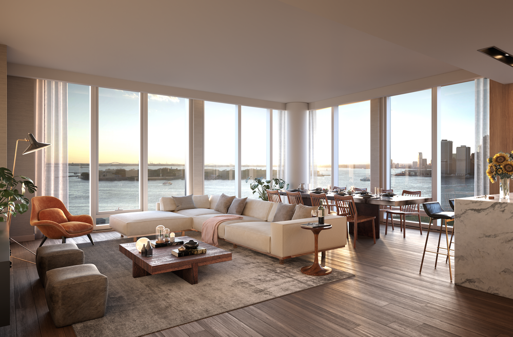 Quay Tower Launches Sales At Brooklyn Bridge Park's Pier 6 Starting At $1.95 Million