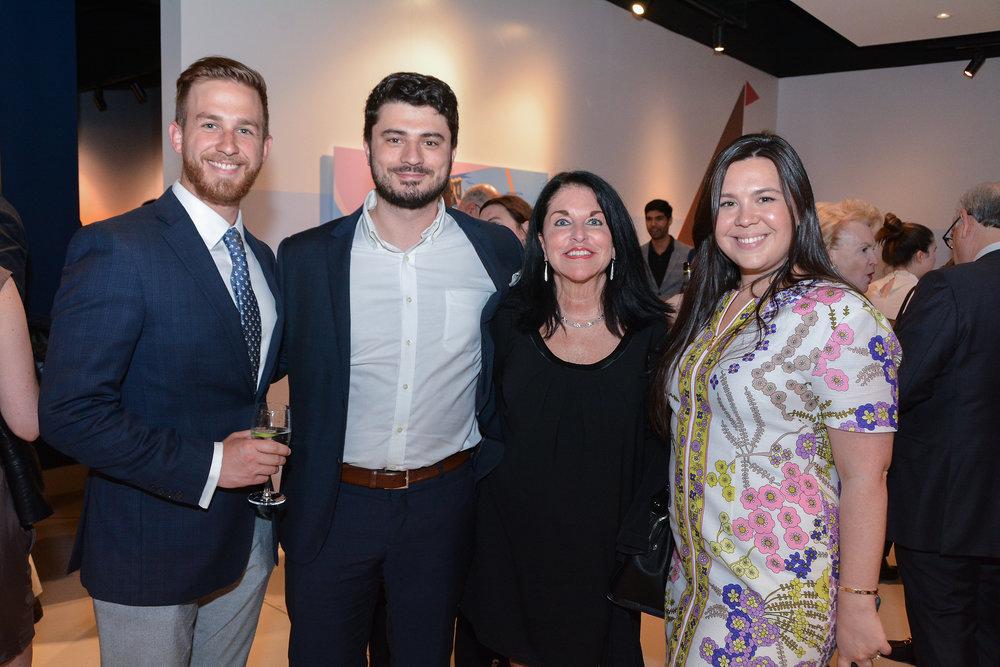 Thomas Fialo from Douglas Elliman, Greg Thumm from RODE Advertising, Debbi Melman, Partner, RODE Advertising and Caitlin Chagan from Douglas Elliman