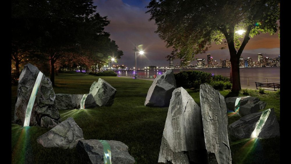 Construction on LGBTQ Monument Underway In Greenwich Village's Hudson River Park