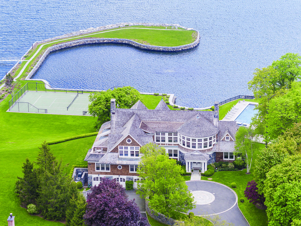 Tour This Spectacular Waterfront Mansion Which Just Sold in Rye $12.75 Million