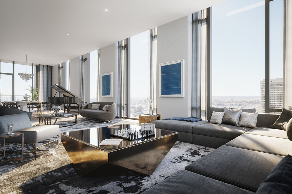 Delve Into This Newly Listed Penthouse at The Rafael Viñoly-Designed 277 Fifth Avenue Asking $24 Million
