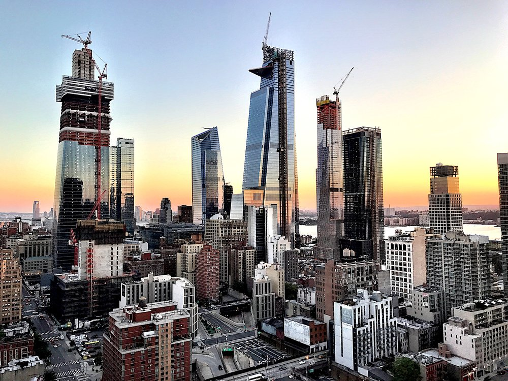 Related Companies' Kohn Pedersen Fox-Designed Supertall 30 Hudson Yards Tops Out At 1,296'