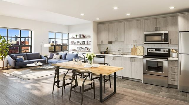 LeFrak has revealed its highly-anticipated new residential building in the Hamilton Park neighborhood of Jersey City, Revetment House. The building is the sister building to LeFrak's existing Embankment House. Revetment House will bring 163 luxury rentals to the brownstone-lined neighborhood, designed to historic neighborhood by fusing contemporary design with an industrial flair. At Revetment House LeFrak transformed the historic railroad embankment that was once operated by the Pennsylvania Railroad, construction on the project is expected to wrap-up in September. The redevelopment was designed by  Northern Architectural Systems. #RevetmentHouse #JerseyCity #HamiltonPark  #NorthernArchitecturalSystems #LeFrak #PROFILEre #RentJerseyCity #RentNYC #PROFILEnyc