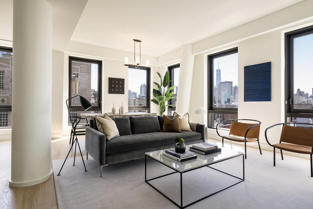 Get A First Look At This Newly Revealed, ASH NYC-designed Residence In Essex Crossing's 242 Broome