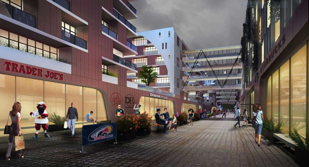 Check Out This Newly Revealed GRO Architects-Designed Mixed-Use As Part of The Harrison Waterfront Redevelopment Plan in New Jersey