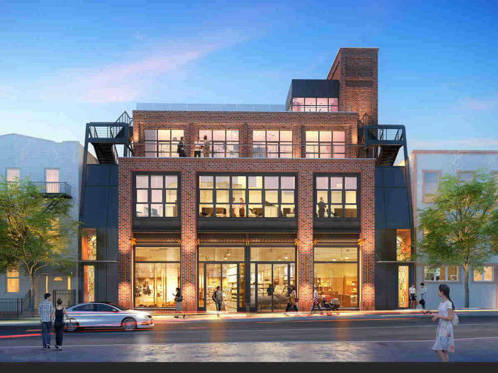 Largo Investments Reveals New Rendering For 71 North 7th Street in Williamsburg