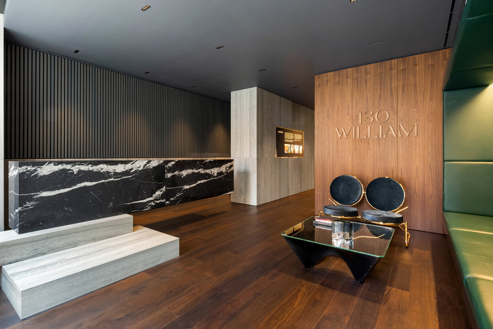Check Out The Newly Revealed Sales Gallery at 130 William Designed By Sir David Adjaye