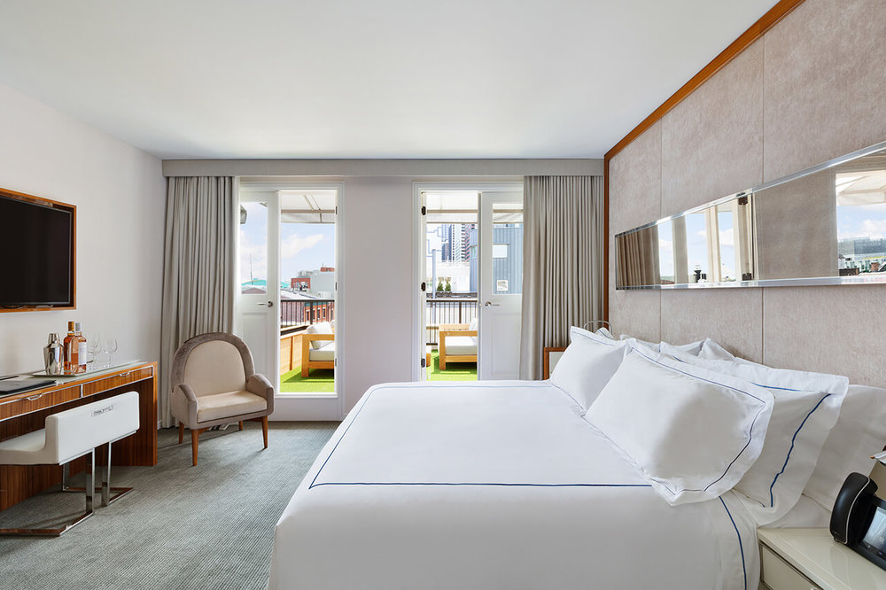 Inside The Newly Opened Mr. C Seaport Hotel From The Cipriani Portfolio