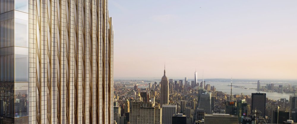 The SHoP-Designed Billionaires' Row Condo 111 West 57th Street Launches Sales