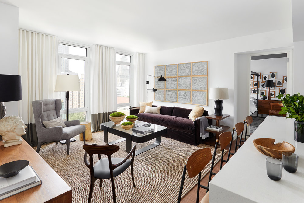 The Amberly In Downtown Brooklyn Reveals BHDM-Designed Model Residence & Launches Sales