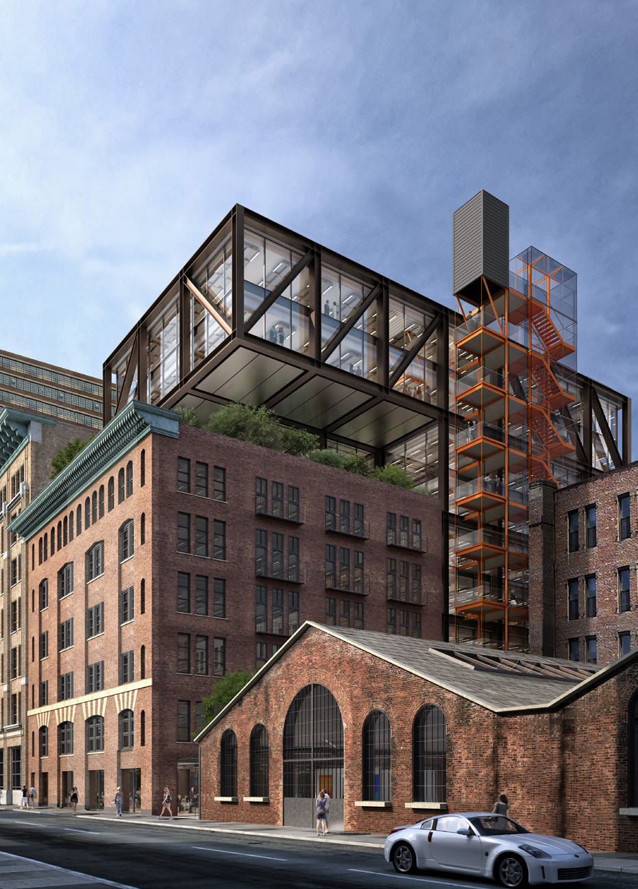 Vornado Realty Trust Reveals Richard Rogers-Redesigned 260 Eleventh Avenue
