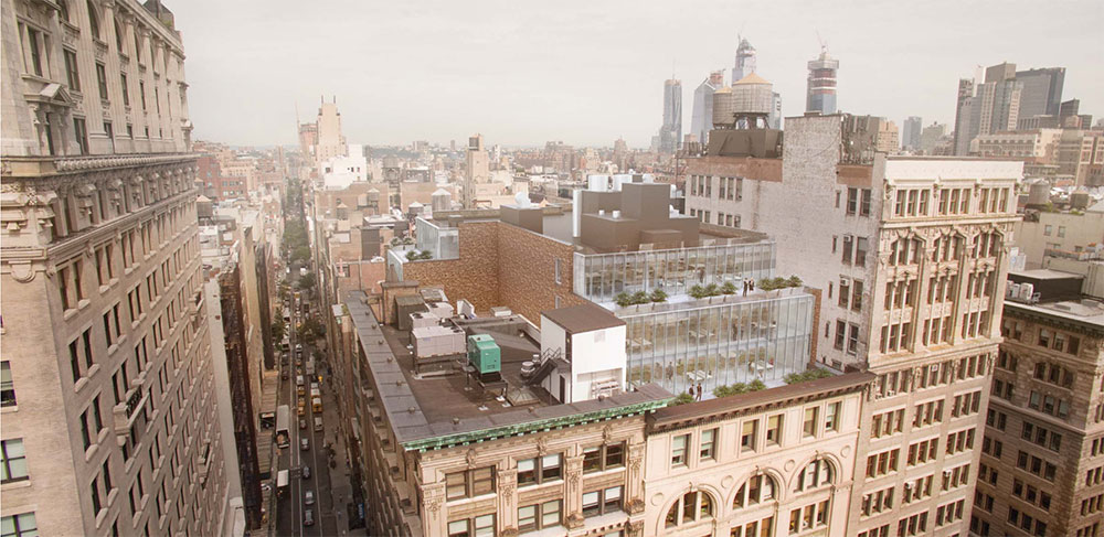 The Bromley Companies Proposes Vertical Office Addition To 122 Fifth Avenue