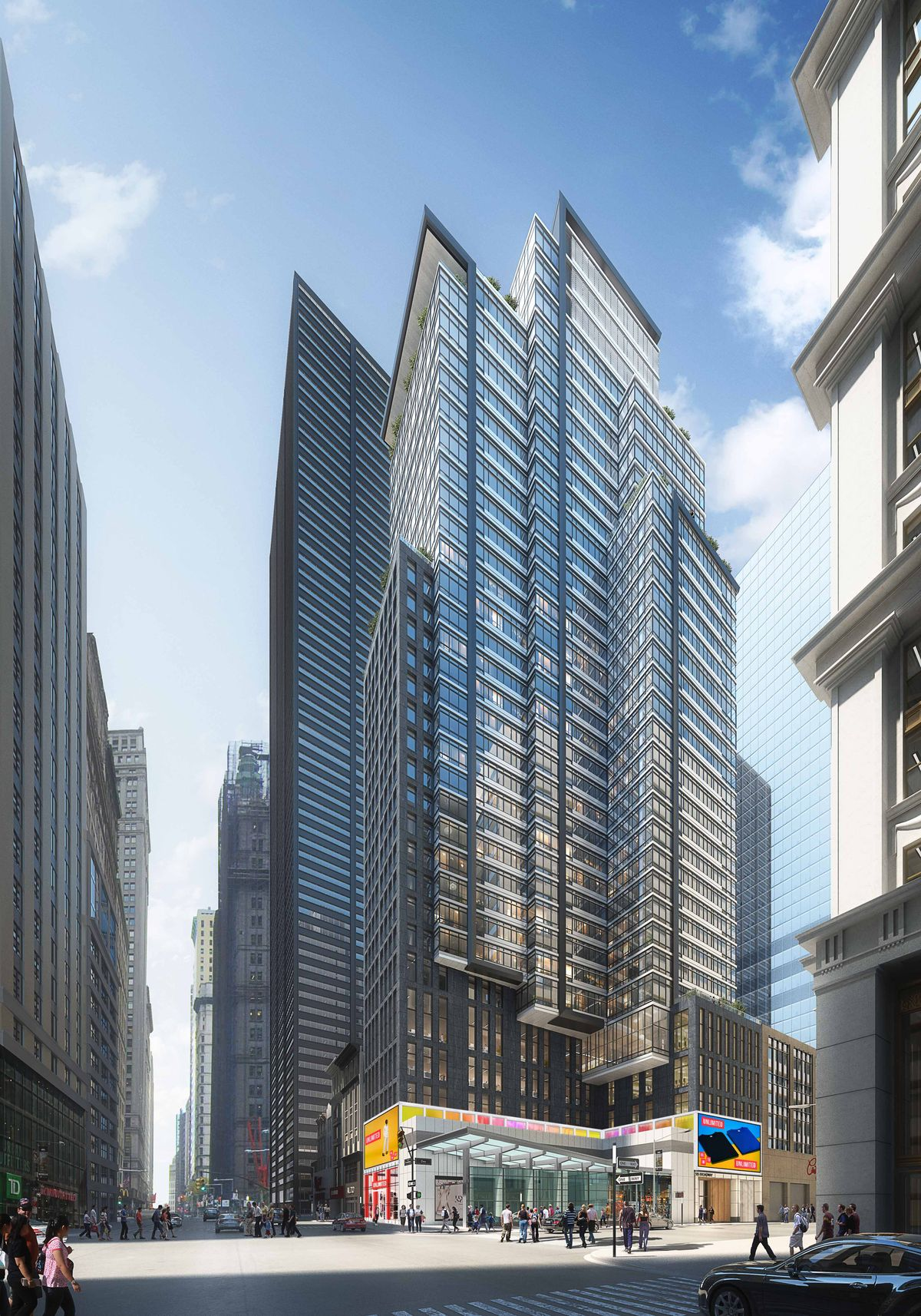 SL Green Goes Vertical On 185 Broadway After Locking Down $225