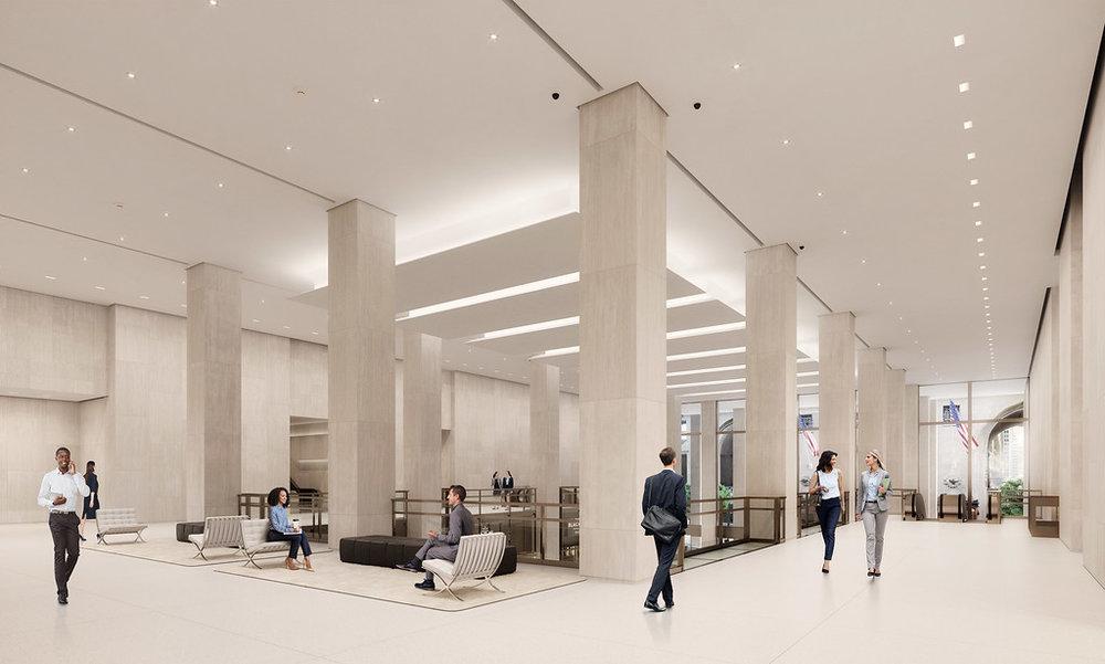 Tishman Speyer Reveals New Renderings For The MetLife Buildings Redesigned Lobby