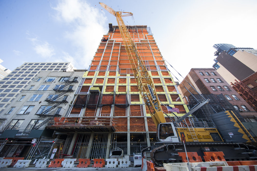 Greenwich West Tops Out Tops Out In West Soho's Hudson Square