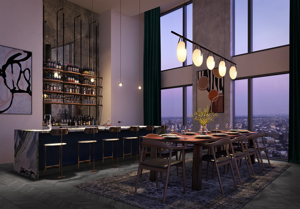 The Studio Gang Architects-Designed 11 Hoyt Reveals 32nd Floor Sky Club in Downtown Brooklyn