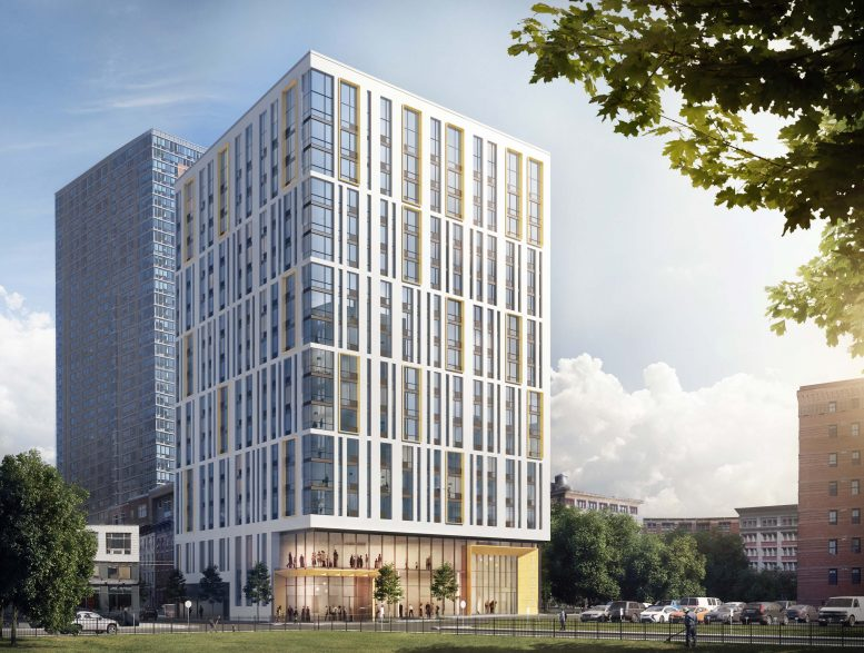 The Fogarty Finger-Designed The Lively at 321 Warren Street Tops Off In Jersey City