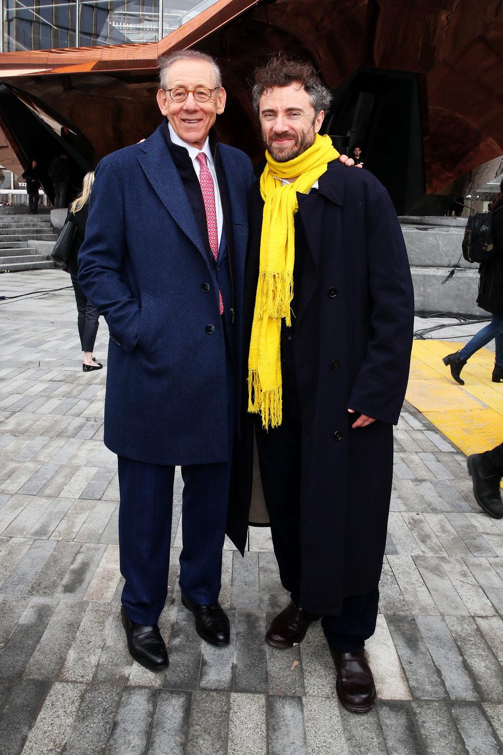 Stephen Ross & Thomas Heatherwick