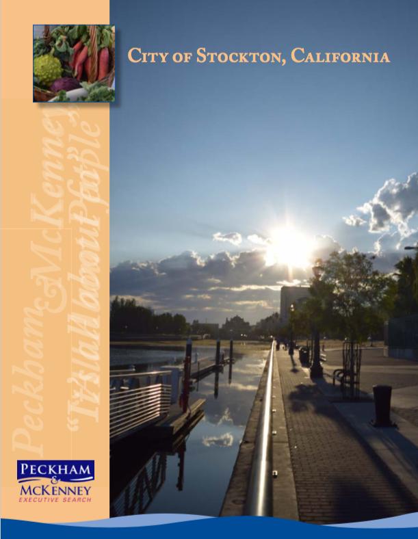 City of Stockton Profile