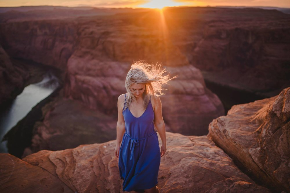 Amber / Horseshoe Bend, Utah, USA