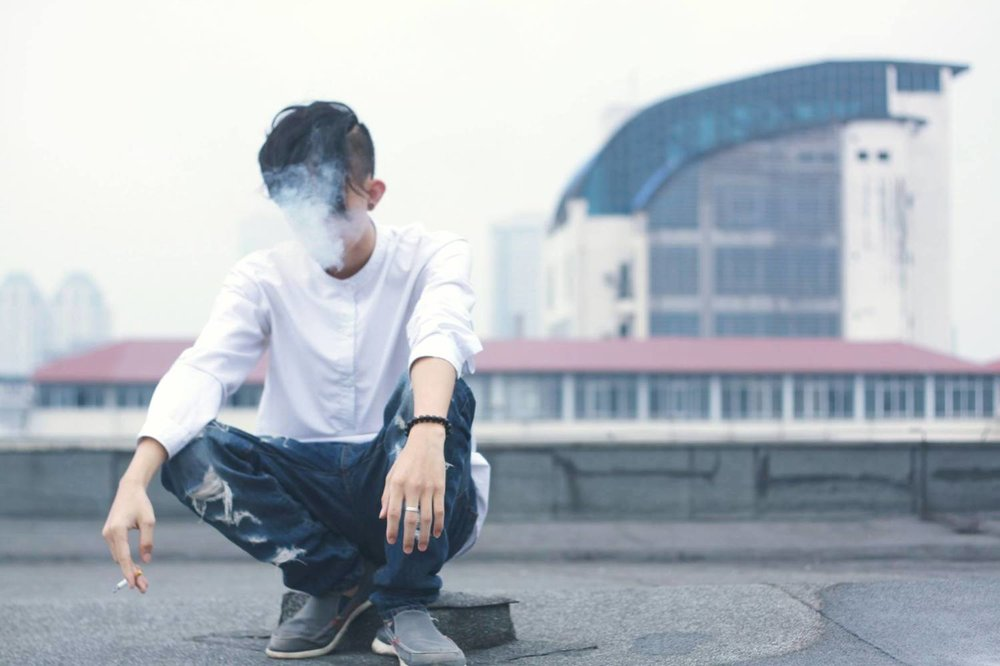 man-smoking