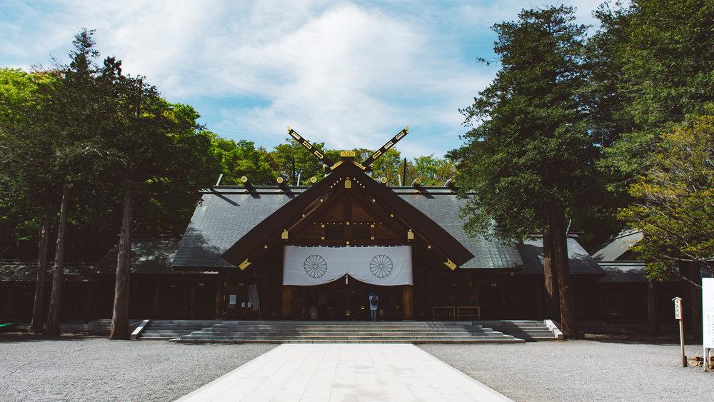 Hokkaido Shrine. Sapporo.